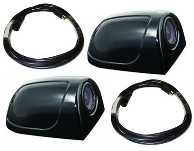 MITO Perimeter View Color Side Cameras Pair W Cables